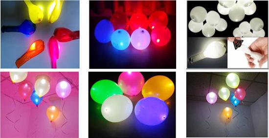 Ballonnen Met Licht : Led ballon licht